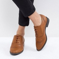 ASOS MANIC Flat Brogues at asos.com