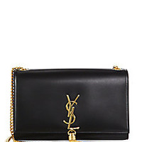 Saint Laurent - Saint Laurent Medium Monogram Tassel Chain Bag - Saks Fifth Avenue Mobile
