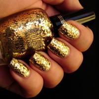 Milani Jewel FX Nail Lacquer Gold