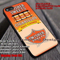Peach Cigarettes Swisher Sweets iPhone 6s 6 6s+ 6plus Cases Samsung Galaxy s5 s6 Edge+ NOTE 5 4 3 #other ii