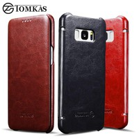 Samsung Galaxy S8 S8 Plus  Leather Flip Cover Case
