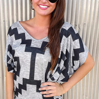 Ganado Print Tunic | The Rage