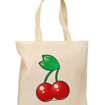 Cherries Grocery Tote Bag