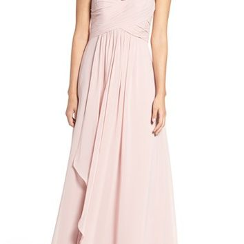 WTOO One-Shoulder Chiffon Dress | Nordstrom