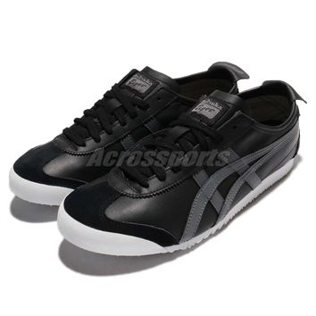 Asics Onitsuka Tiger Mexico 66 Black Carbon Men Shoes Sneakers D4J2L-9097