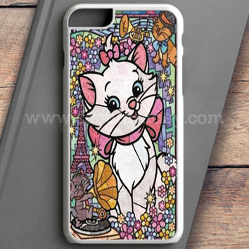 Marie Cat Disney'S The Aristocats Stained Glass iPhone 6 Plus Case | casefantasy