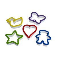 Curious Chef 5-Piece Cookie Cutter Set