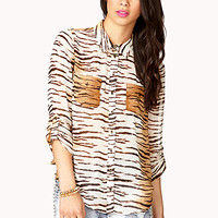 Tiger Striped Shirt