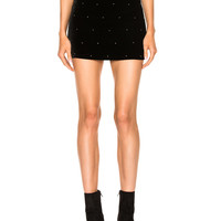 Amiri Mini Skirt in Black | FWRD