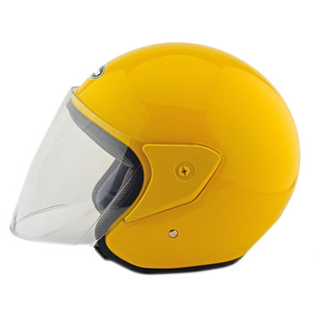 Motorcycle Motor Bike Scooter Safety Helmet 218   yellow