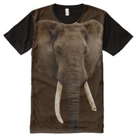 Eléphant All-Over Printed T-Shirt All-Over Print T-shirt