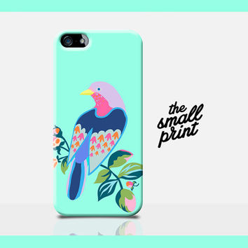 BIRD iPhone 5 Case, Bird Phone Case, Animal iPhone Case, Mint Case, Summer iPhone 4 Case, Girly iPhone Case, girls gift, animal lover, 5c