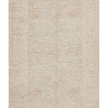 Pasargad Pasargad Oushak Hand-Knotted Rug - Blue