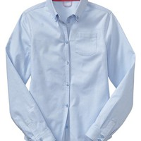 Gap Girls Oxford Shirt Size XXL Plus - Pure blue