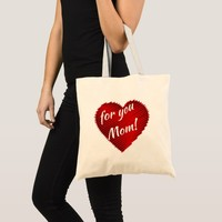 Mother's day special- my heart is for you Mom Tote Bag