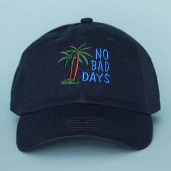 No Bad Days Hat - Navy