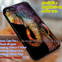 Colorful | Elephant Aztec | Tribal iPhone 6s 6 6s+ 6plus Cases Samsung Galaxy s5 s6 Edge+ NOTE 5 4 3 #art dl3