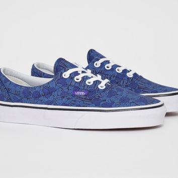 Shop Vans Era Liberty Blue/Floral