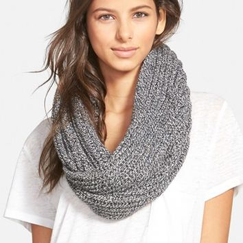 Women's Madewell 'Softest' Knit Infinity Scarf - Grey