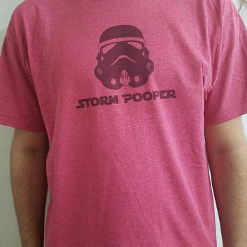 Funny - Star - wars - storm - trooper - unisex - shirt - ladies - shirt - men's - shirt -  geek - chic