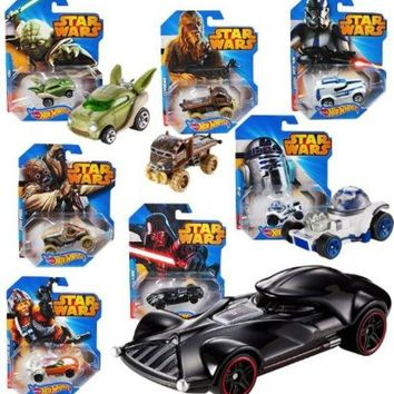 Assorted Hot Wheels Star Wars Vehicle - CASE OF 12