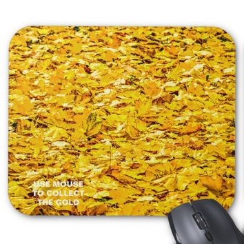 Gold Of Autumn Mouse Pad