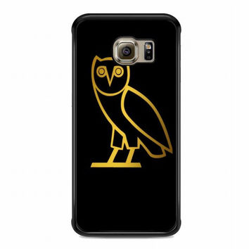 OVOXO Hoodie, Owl For samsung galaxy s6 edge case