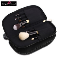 Professional Make Up Set Brush Set Cosmetic Makup Poweder Foundation Nose Eyeshadow Lip Brush with Storage Bag