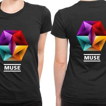 a1de89f5 CREYH9S Muse Undisclosed Desire 2 Sided Womens T Shirt