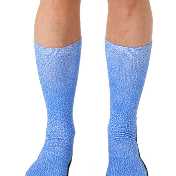 Pebble Blue Sport Socks