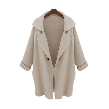 Sweater Blazer Winter Knit Jacket [8431756621]