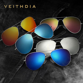 Stylish Mirror Sunglasses [8878347206]