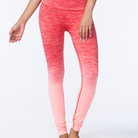 NAMAWEAR Long Ombre Womens Yoga Pants | Gifts Under $25