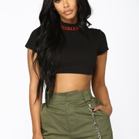 All Kinds Of Reckless Top - Black
