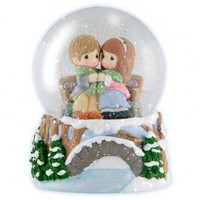 Being With You Warms My Heart - Musical Water Globe