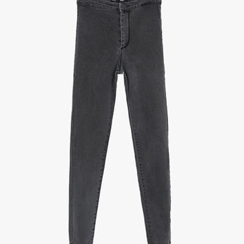 High Waist Supper Skinny Fit Jeans