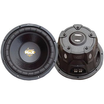 "Lanzar Maxpro Series Small 4ohm Dual Subwoofer (10"" 1200 Watts)"