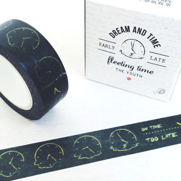 Fleeting Time washi masking tape mt
