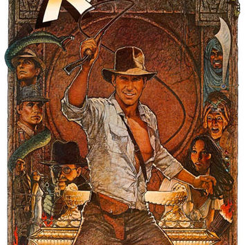 Indiana Jones Raiders of the Lost Ark Poster 11x17