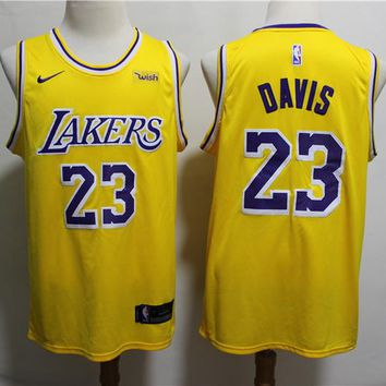 2019-2020 Lakers 23 Anthony Davis Basketball Jersey