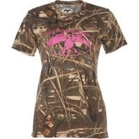 Academy - Duck Commander Women's Max 4 Camo T-shirt