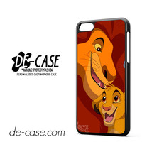 Simba and Mufasa Lion King DEAL-9599 Apple Phonecase Cover For Iphone 5C