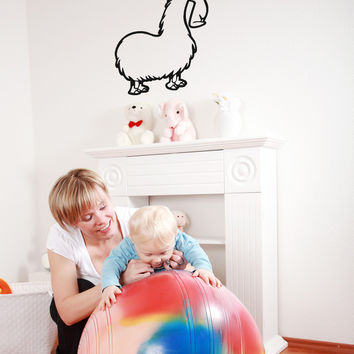 Vinyl Wall Decal Sticker Llama #OS_AA658