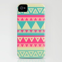 Tropical Tribal iPhone Case by haleyivers | Society6