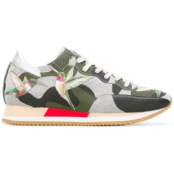 Philippe Model Camouflage Print Sneakers - Farfetch