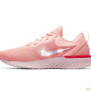Nike Odyssey React  + Crystals - Oracle Pink