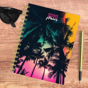 Tropical Sunset Medium Weekly/Monthly Planner