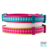 Martha Stewart Pets™ Houndstooth Dog Collar - Martha Stewart Pets - Dog - PetSmart