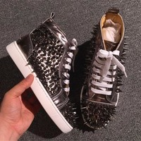 Cl Christian Louboutin Pik Pik Style #1994 Sneakers Fashion Shoes - Best Deal Online