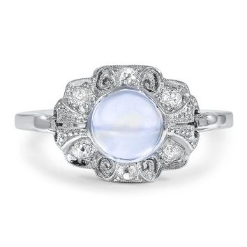 Platinum The Victorina Ring